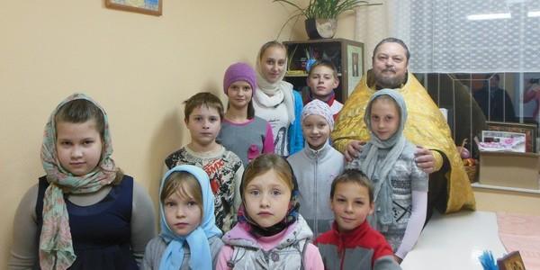 Набор детей в Воскресную школу