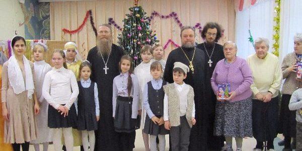 Благотворительный Рождественский концерт ВШ в Протвинском РЦ