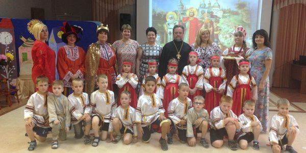Празднование 1030-летия Крещения Руси в Детском саду № 2 «Искорка»