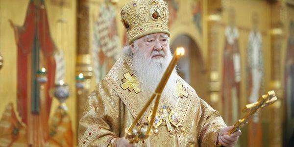 Циркулярное письмо митрополита Крутицкого и Коломенского Ювеналия об открытии храмов для посещения