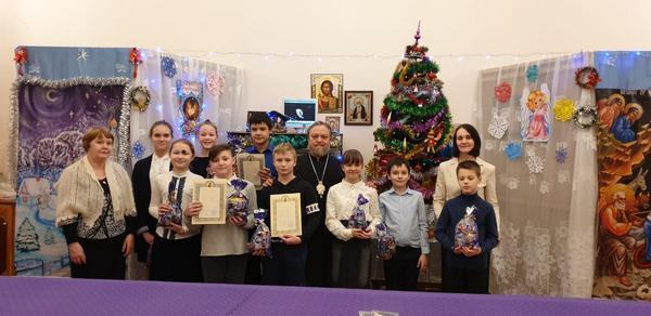 Рождественские поздравления с Праздником Рождества Христова учащихся ВШ