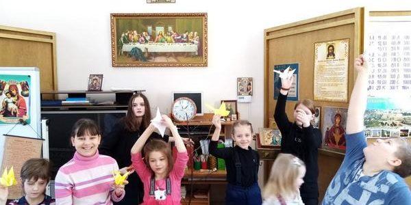 Мастер-класс по изготовлению жаворонков в технике оригами.